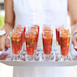 Watermelon Gazpacho.