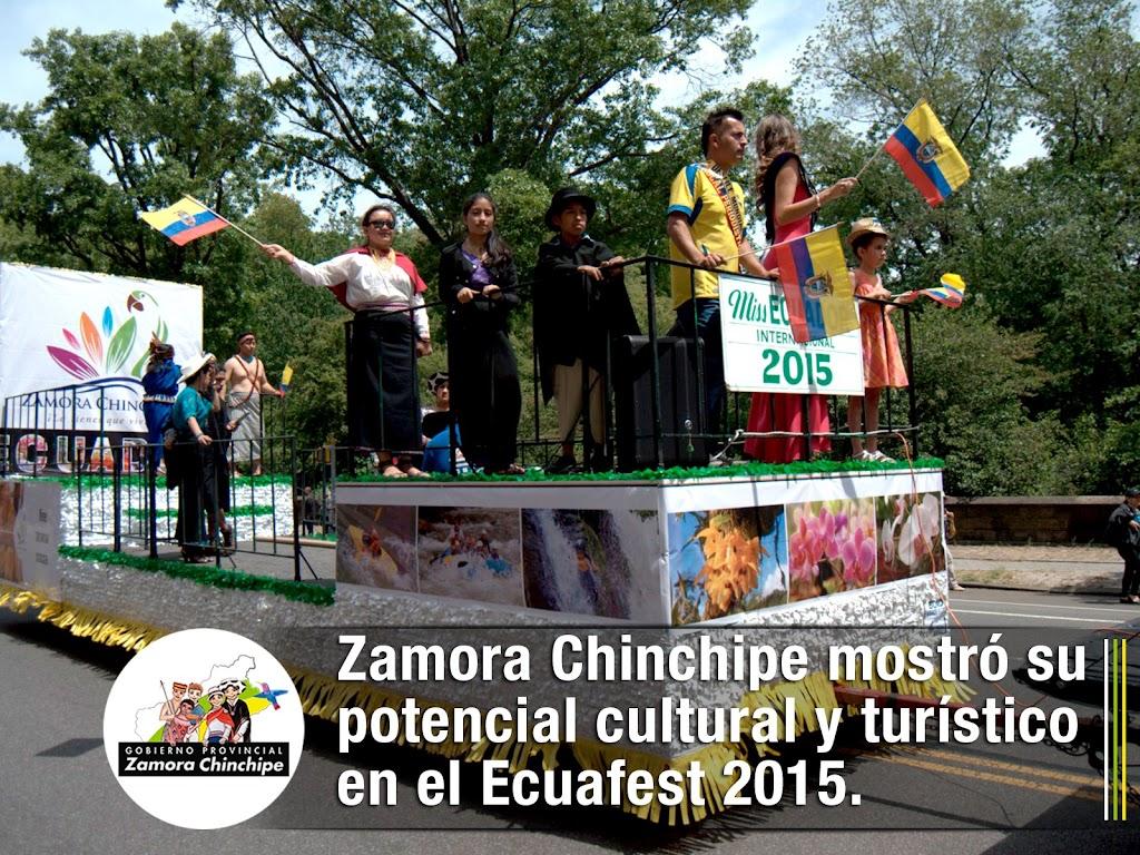 ZAMORA CHINCHIPE MOSTRÓ SU POTENCIAL CULTURAL Y TURÍSTICO EN EL ECUAFEST 2015.