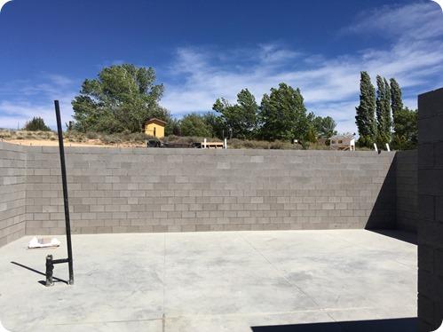 5 - Basement walls done!