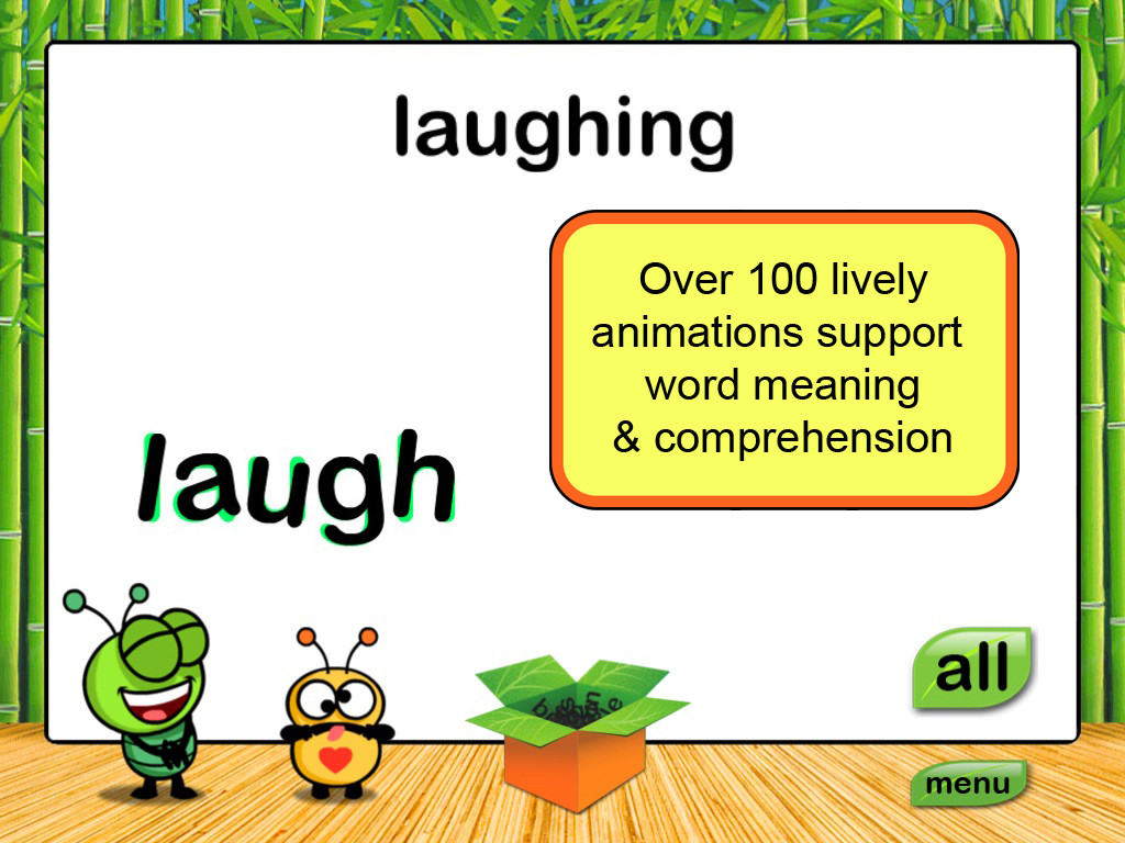Noodle Words Active Words Set 1 Laugh