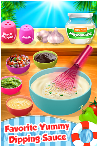 Fish N Chips - Kids Cooking Game filehippodl screenshot 9
