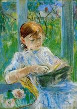 """Photo: Berthe Morisot, """"Ritratto della figlia Julie"""" (1886)"""
