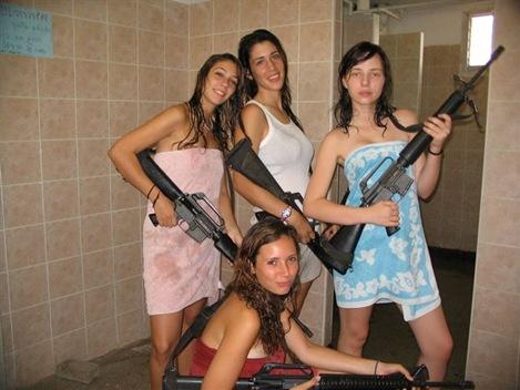 ISRAELI-GUN-GIRLS