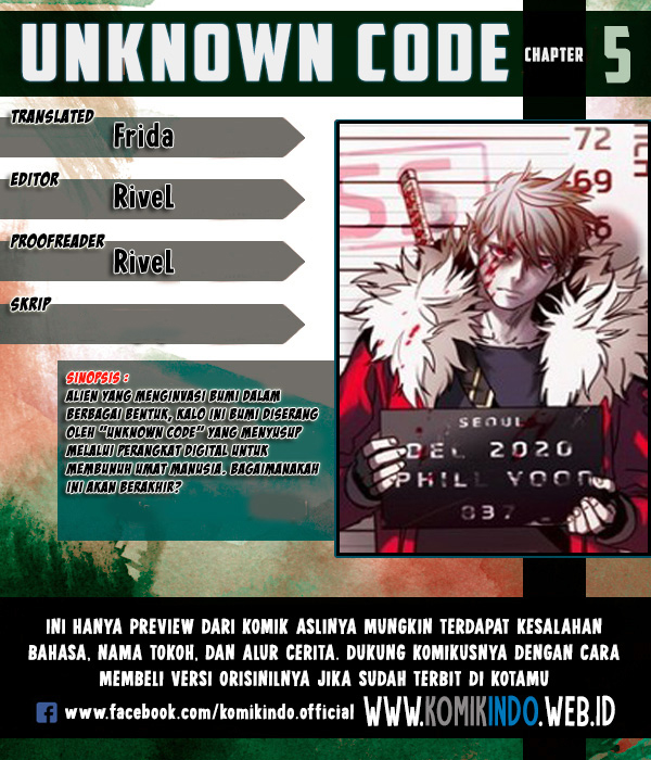 Unknown Code Chapter 5
