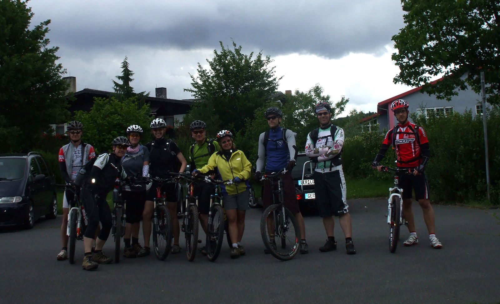 Spessart-Biker Tour am 20.06.2010