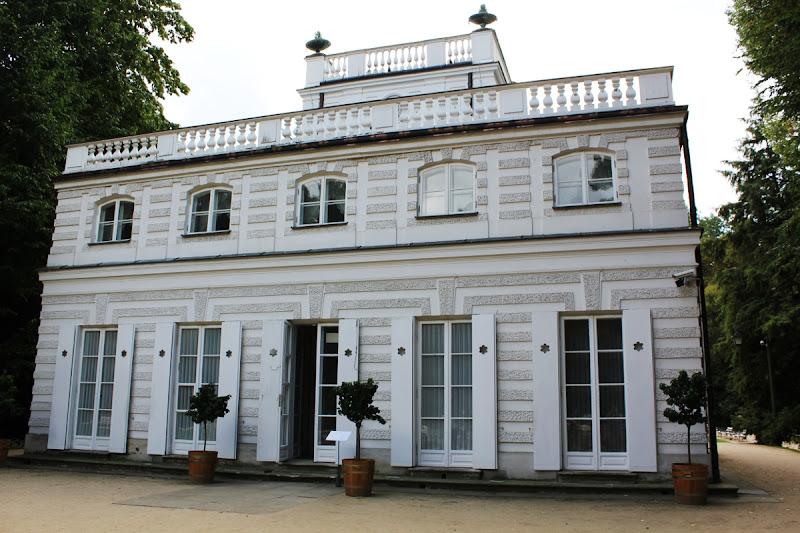 La Casa Blanca del Parque Łazienki