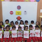 Introduction to Octagon Shape by Nursery Morning Section at Witty World, Chikoowadi (2018-2019)