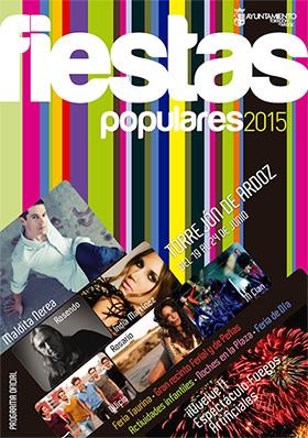 Fiestas Populares de Torrejón de Ardoz, del 19 al 24 de junio 2015