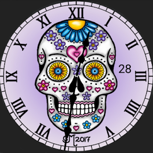 Voodoo Queen Light Watch Face - náhled