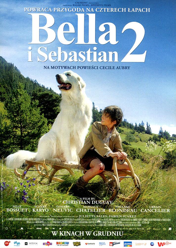 Ulotka filmu 'Bella i Sebastian 2 (przód - wersja B)'