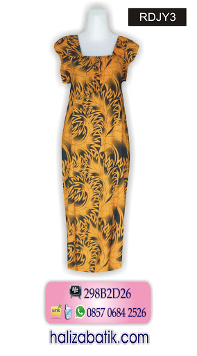 Contoh Baju Batik, Grosir Pakaian Murah, Mode Batik, RDJY3