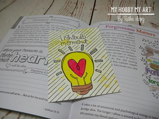 ADORNit, Hello Friend by Catherine Scanlon, Ruthie Lopez, Bible Journaling 2