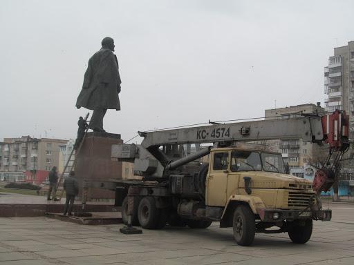 Ленин покидает последний причал