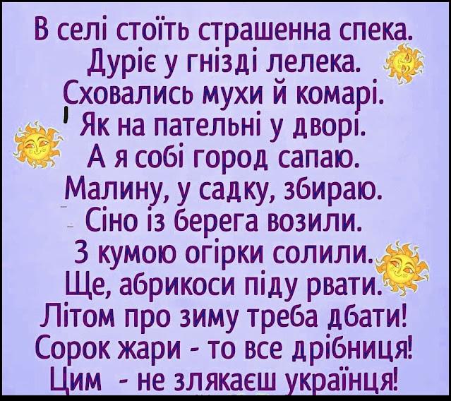 Вірші про село