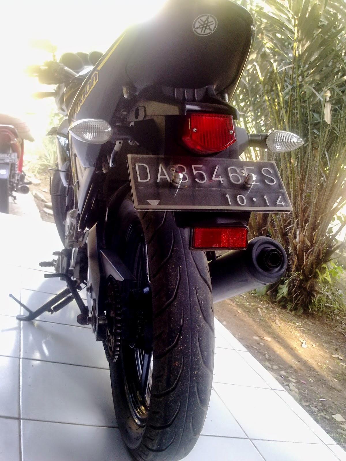 Modif Spakbor Belakang Yamaha Vixion