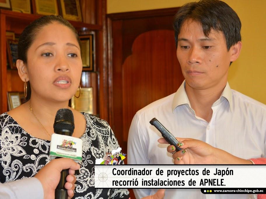 COORDINADOR DE PROYECTOS DE JAPÓN RECORRIÓ INSTALACIONES DE APNELE.