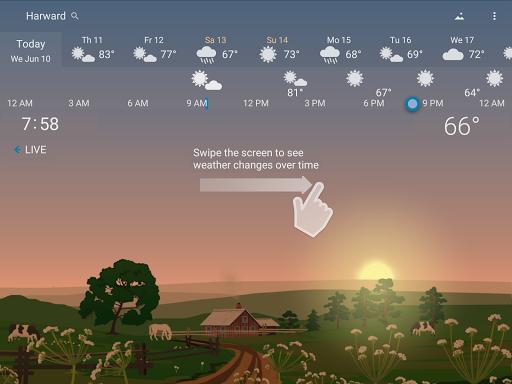 Awesome Weather - YoWindow screenshot 9