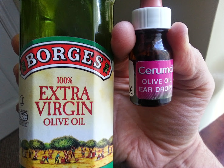 how to clean ears with olive oil