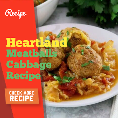 Heartland Meatballs And Cabbage, Blue Meringue Pie, Iced Chai Recipe