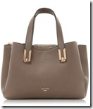 Dune Faux Leather Triple Compartment Handbag with Long Strap