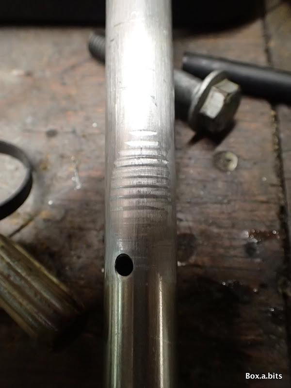 Damper rod