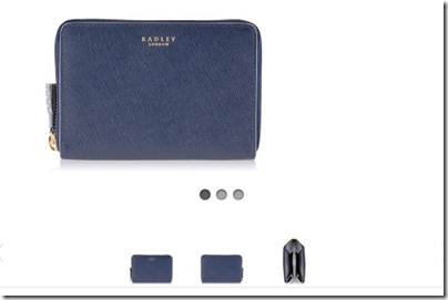 Radley Whitfield Medium Zip Purse