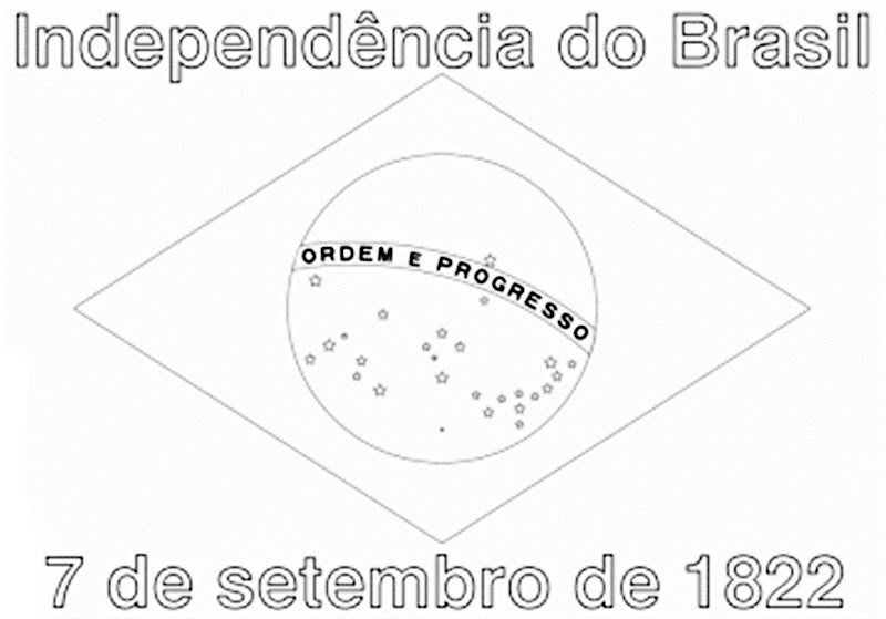 Images Brazil Independence day coloring pages