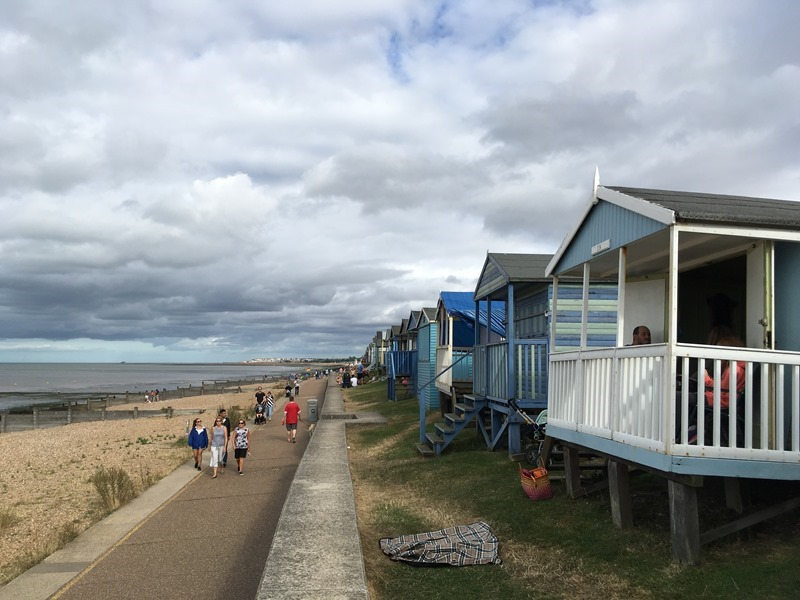 Beach Huts, Whitstable Beach