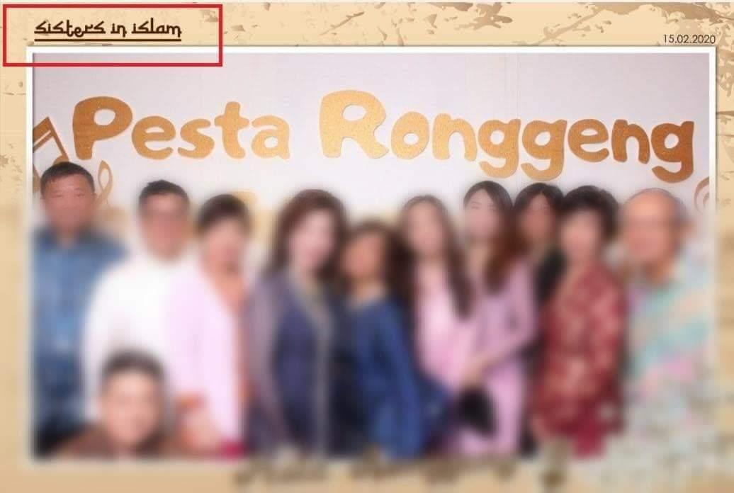 Sisters in Islam Anjur Pesta Ronggeng?