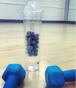 water bottle with weights