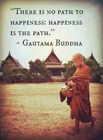Awesome Buddha Quotes About Happiness