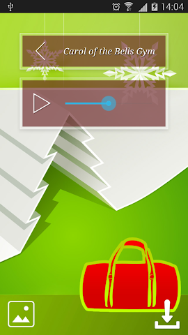 android Christmas Fitness Holidays Screenshot 4