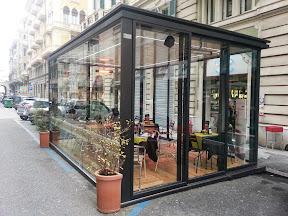 Veranda per Bar - Mod. Glass-Cube