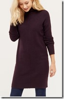 Oasis high neck sweater dress