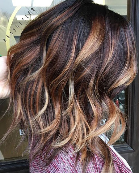 ATTRACTIVE SHORT HAIR COLOR STYLES FOR LADIES IN 2019 6