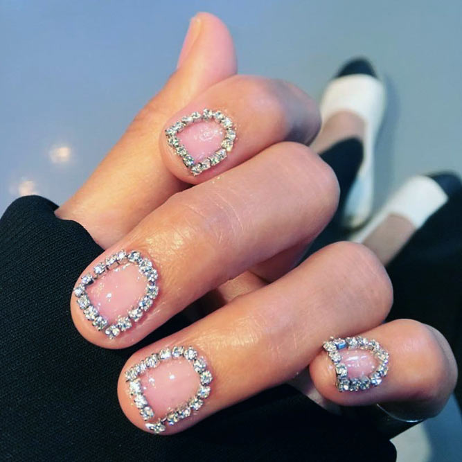 Ideas of Luxury Nails To Really Dazzle - Fashionre