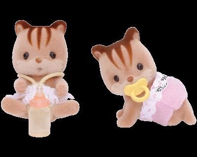 Sóc nâu sinh đôi Walnut Squirrel Twins 3218 Epoch