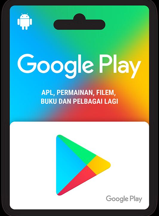 Kad hadiah Google Play