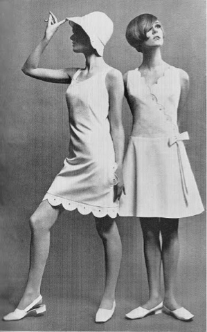 Bold Shift Dresses Are Such A Weakness For Me Here S Few Photos I Ve Come Across Of Mary Quant Clothing And The Models Sporting Them