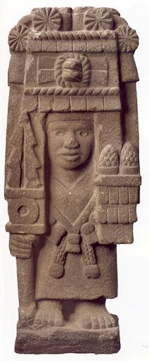 Goddess Chicomecoatl Image