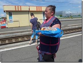 Barabinsk marchande de piroski