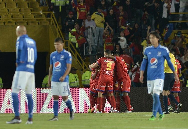 Millonarios vs Deportivo Pasto, 13-02-2016. LA I_2016