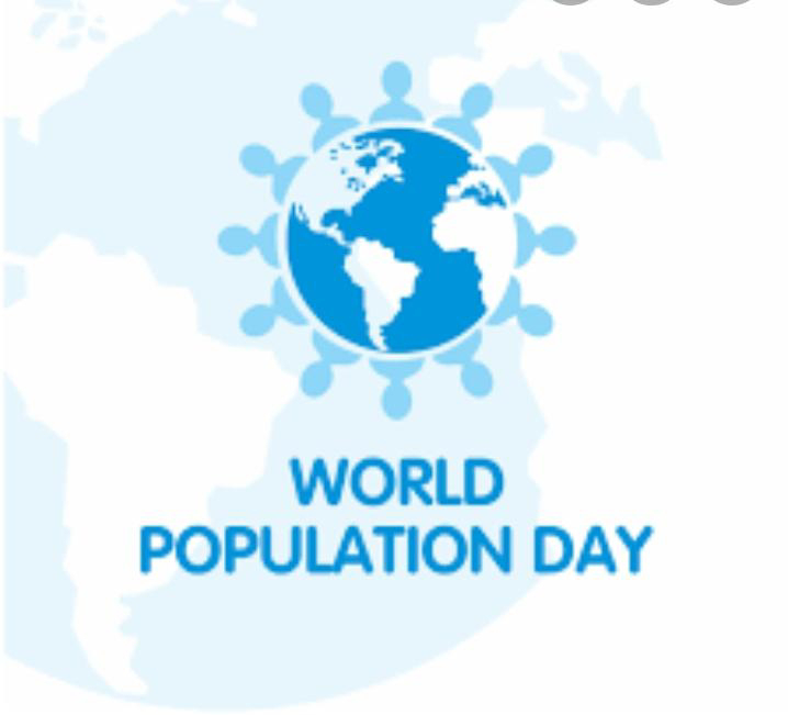 Whole world celebrated World population day today in Corona pandemic.