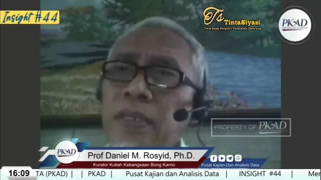 Prof. Daniel Menilai Penerapan PPKM Malaadministrasi Publik