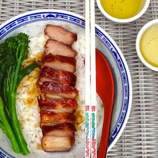 Sous Vide Char Siu Pork.