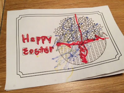 Happy Easter message from autistic son