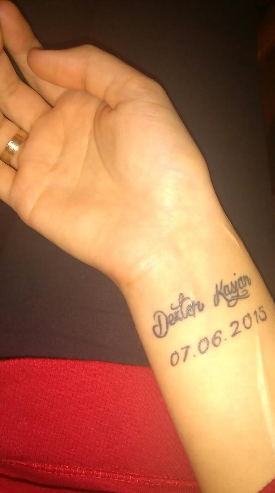 Na Zawsze W Moim Sercu Synku Tatuaż