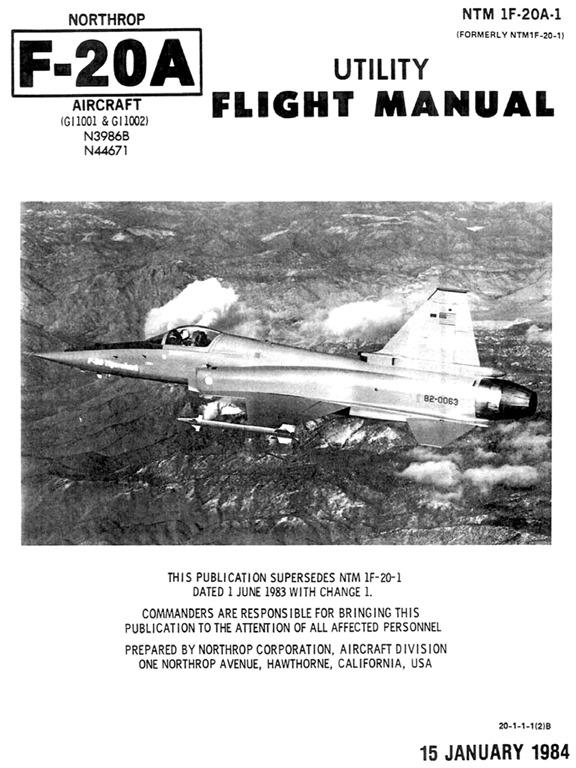 [Northrop-F-20A-Utility-Flight-Manual]