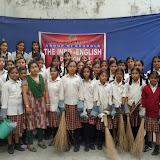Swach bharath abhyaan in santhosh nagar branch