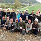 Guidage des Scouts d'Europe au Trou d'Haquin